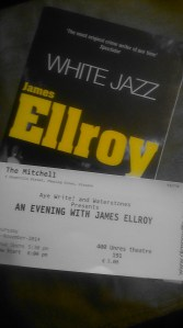 Ellroy in Glasgow